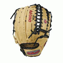 m Wilson features a one-piece, six finger palmweb. Its perfect for outfielders looking for a longe