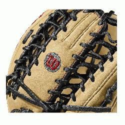 Wilson features a one-piece, six finger palmweb. Its perfect for outfielders