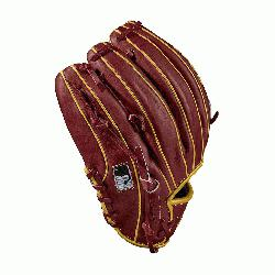 nfield model, dual post web Brick Red with Vegas gold Pro Stock leather, preferred for its rugged