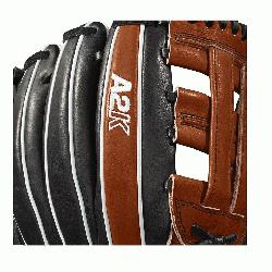 21 is a new infield model to the Wilson A2K® line. Made with a Dual Post Web and