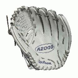 her model; fast pitch-specific model; available in right- and left-hand Throw Comfort Velcro