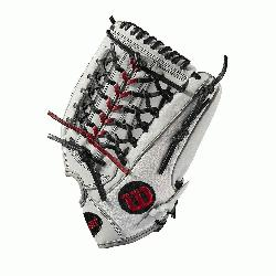 l; fast pitch-specific model; Pro-Laced T-Web New Drawstring closure for comfort and Convenienc