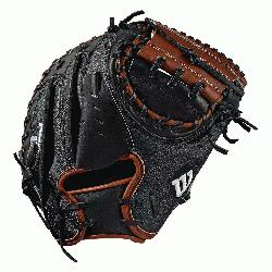 s model; half moon web Black SuperSkin, twice as strong as regular leath