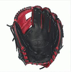 15 Red Accents - 11.5 Wilson A1K DP15 Red Accents Infield B