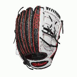 rs glove 2-piece web Black SuperSkin, twice as strong as regular leather, but