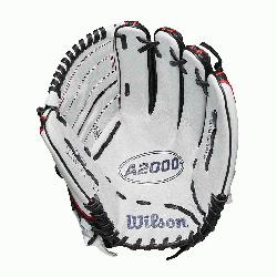 pitchers glove 2-piece web Black SuperSkin, twice as strong as regular leather,
