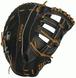 12.25 Fist Base Mitt (Right Handed Throw) : The Wilson A2000 puts unbeatable craftsmanship i