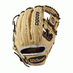 ld model; I-Web Double lacing at the base of the web Blonde/Dark Brown/White Pro Stock leathe
