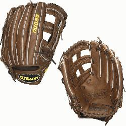n A2000 Outfield Baseball Glove 1799 and 12.75 inches. Wilson 12.75 inch Outfie