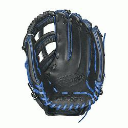 9SS Baseball Glove. 12.75 inch Outfield Model. Reinforced Dual Post Web. Pro Stock