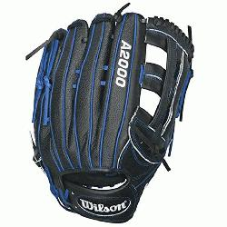 son A2000 1799SS Baseball Glove. 12.75 inch Outfield Model. Reinforced Dual Po