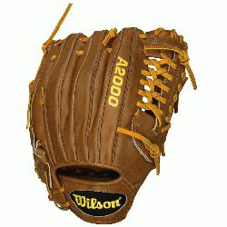 Pitcher Model Pro Laced T-Web Pro Stock(TM) Leather for a long lasting glove an