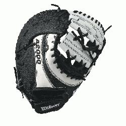 Wilson A2000 BM12 SS fastpitch first base mitt was designed with a single heel-break allowi