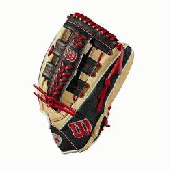 hits in the outfield with this custom A2000 SA1275 outfield model. A combination of Blonde
