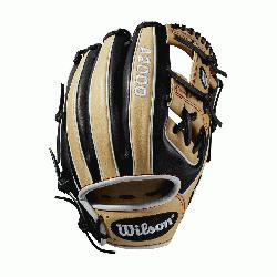 "ur most popular middle infield glove returns this month in this custom 11.5"" Black and Blonde"