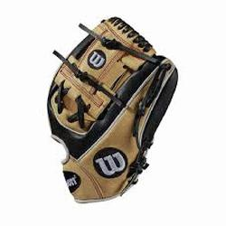 "pular middle infield glove returns this month in this custom 11.5"" Black and Blon"