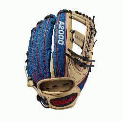 t a head-turner. This Blonde Pro Stock Leather-Blue SuperSkin custom A2000 1785 is sure to c