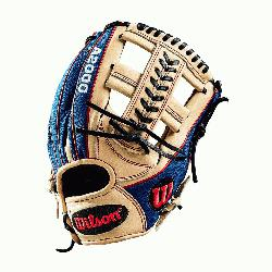 lk about a head-turner. This Blonde Pro Stock Leather-Blue SuperSkin custom A2000 1785 is su