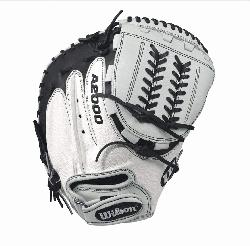 34 Wilson A2000 CM34 White Super Skin 34 Fastpitch Catchers M
