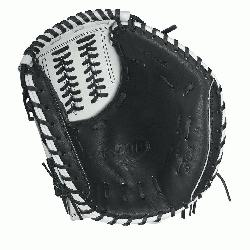 WS - 34 Wilson A2000 CM34 White Super Skin 34 Fastpitch Catchers MittA2000 CM34 White