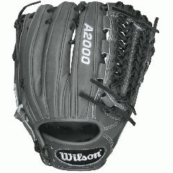 .75 Inch Pattern A2000 Baseball Glove. Closed Pro-Laced Web Dri-Lex Wrist Lining with Ultra