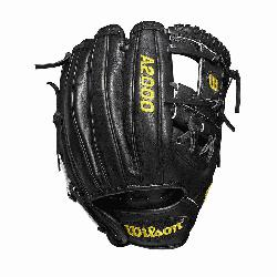 WTA20RB19DP15 Made with pedroia fit for players with a smaller hand H-Web design Black Pro St