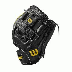 WTA20RB19DP15 Made with pedroia fit for players with a smaller hand H-Web design Black Pro S