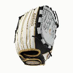 l; fast pitch-specific model; Victory web Comfort Velcro wrist closu