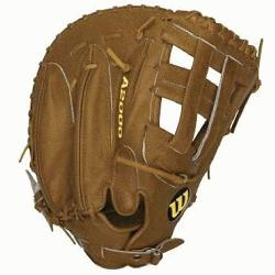 st Base Mitt BB1883 Tan 12 inch (Right Handed Throw) : T