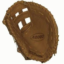 First Base Mitt BB1883 Tan 12 inch (Right Handed Throw) : The Wilson A2000 puts u