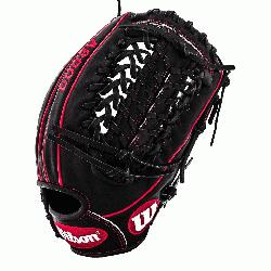 The black and red A2000 GG47 GM Baseball Glove fit