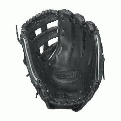 IF SS Fast Pitch Softball Glove. 12 Inches. The black and gunmetal grey A