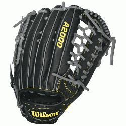 he Wilson A2000 KP92 Baseball Glove on and youll