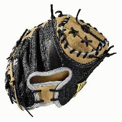 del; half moon web Extended palm Black SuperSkin, twice as strong as regular leather