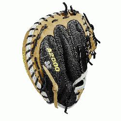 atchers model; half moon web Extended palm Black SuperSkin, twice as strong as regular leather