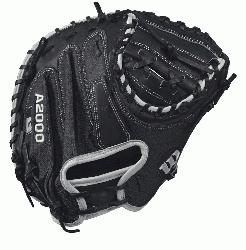 S - 33.5 Wilson A2000 M1 Super Skin Catchers Baseball Glove A2000 M