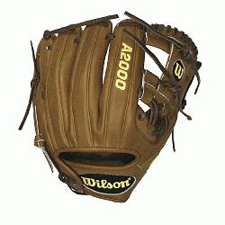 Wilson A2000 Baseball Glove. H Web, Pedroia Fit, Game Model for Dustion Pedroia. W
