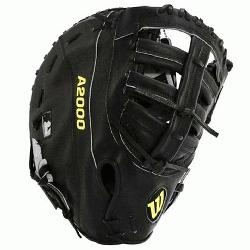 Wilson A2000 First Base Mitt Reinforced Single Post Web, double break design,