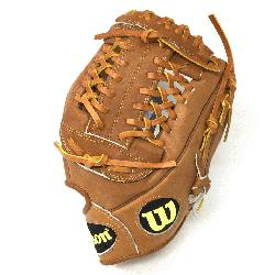 anned Palm. 11.75 Pitcher Model Pro Laced T-Web Pro Stock(TM) Leather for a long lasting gl