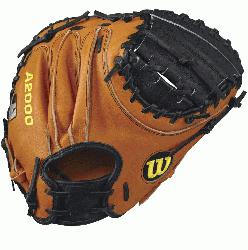 5 Wilson A2000 PUDGE Catcher Baseball GloveA2000 PUDGE 32.5 Catcher s Baseball Glove - Right Hand