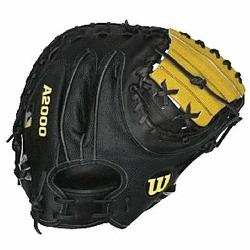 in A2000 glove series Pro Stock Leather uses a stronger, lighter