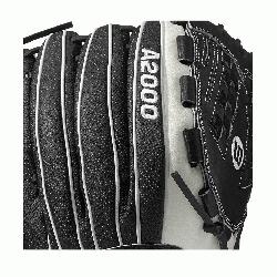 25 SS - 12.5 Wilson A2000 V125 Super Skin 12.5 Outfield Fastpitch GloveA2000