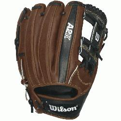 dle infield & third base model, the A2K 1787 baseball glove is pe