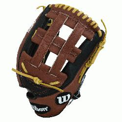 Get extreme reach with Wilsons largest outfield model, the A2K 1799. A