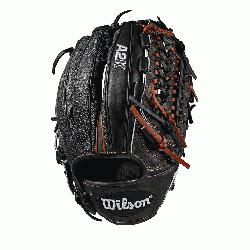 osed Pro laced web; available in right- and left-hand Throw Black SuperSkin, twice as strong a