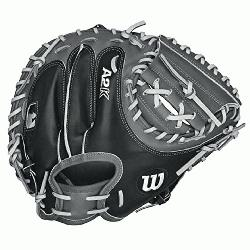 Catchers Mitt Pudge 32.5 inch. The Wilson 32.5 Inch A2K 1791 Catchers Mitt features an extend