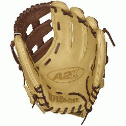 5 GM Baseball Glove plays big for an infield glove while o