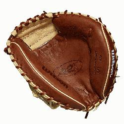 alf moon web Copper and blonde Pro Stock Select leather, chosen for its