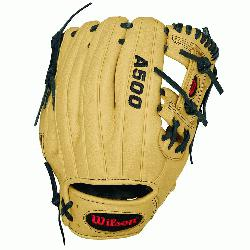 Wilson A500 1786 Baseball GloveA500 1786 11 Baseball Glove-Right Hand Throw A