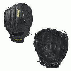 12.5 Wilson A500 12.5 Baseball Glove A500 12.5 Baseball Glove - Right Hand Throw A500 12.5 Ba